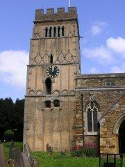 Earls Barton church, S aspect